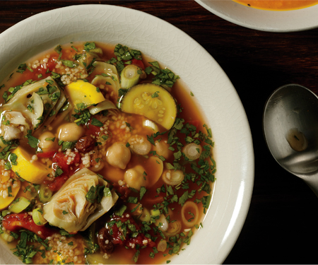 savoury moroccan soup